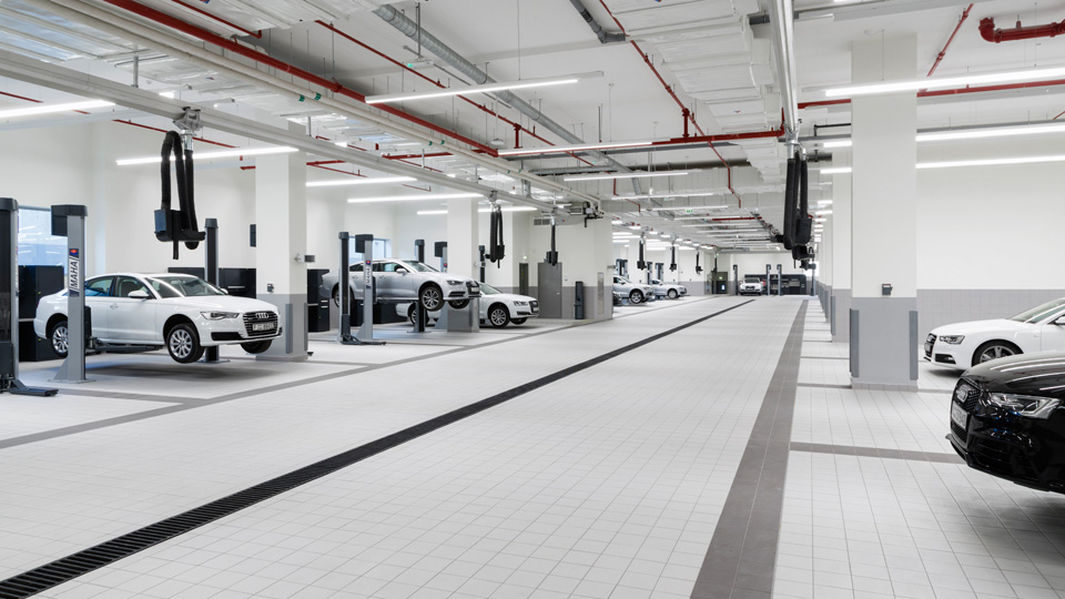 Audi-Dubai-Workshop